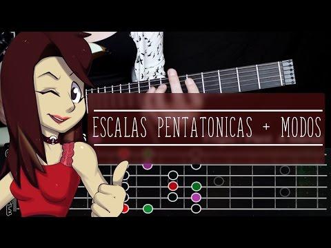 ESCALAS PENTATONICAS + MODOS! | Renueva tus lineas y solos!