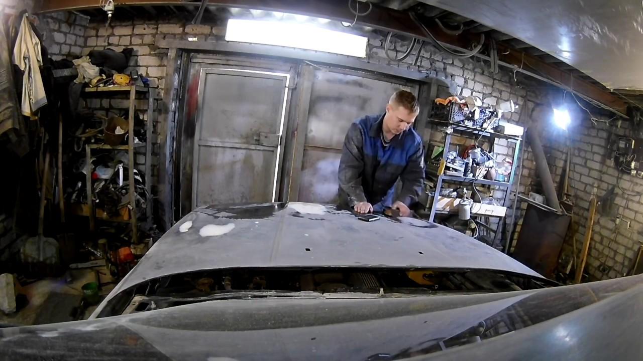 Подготовка к покраске БМВ Е34 часть 3