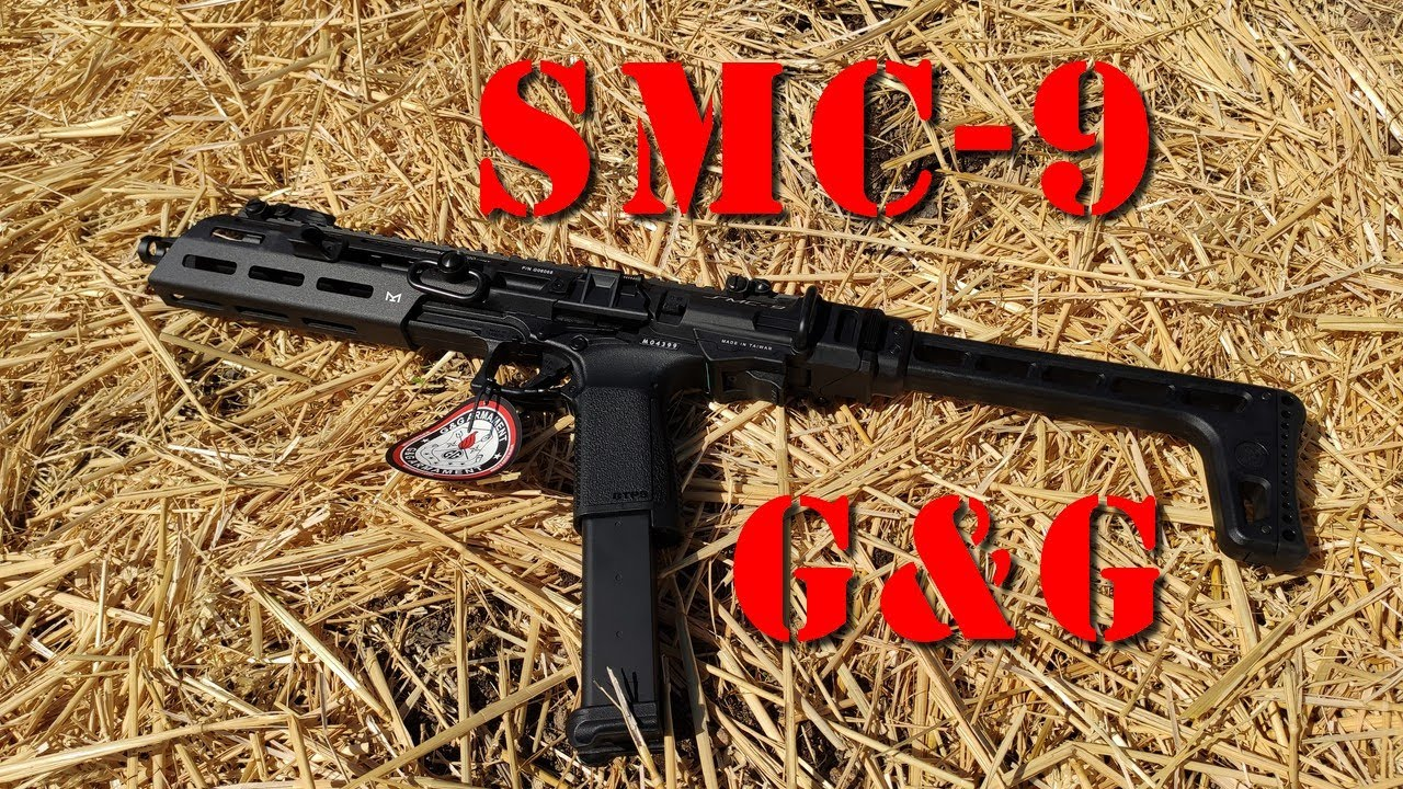 Airsoft - G&G SMC-9 [French]
