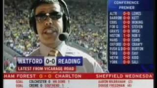 Funny Moments From Chris Kamara