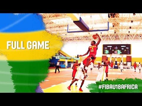 Uganda v Angola -  Full Game - 2016 FIBA Africa U18 Championship