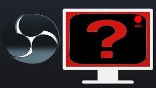Как убрать черный экран при записи игр на видео в программе open broadcaster software(В этом видео я покажу как устранить проблему черного экрана появляющегося при записи на видео игр через..., 2015-09-01T15:52:07.000Z)