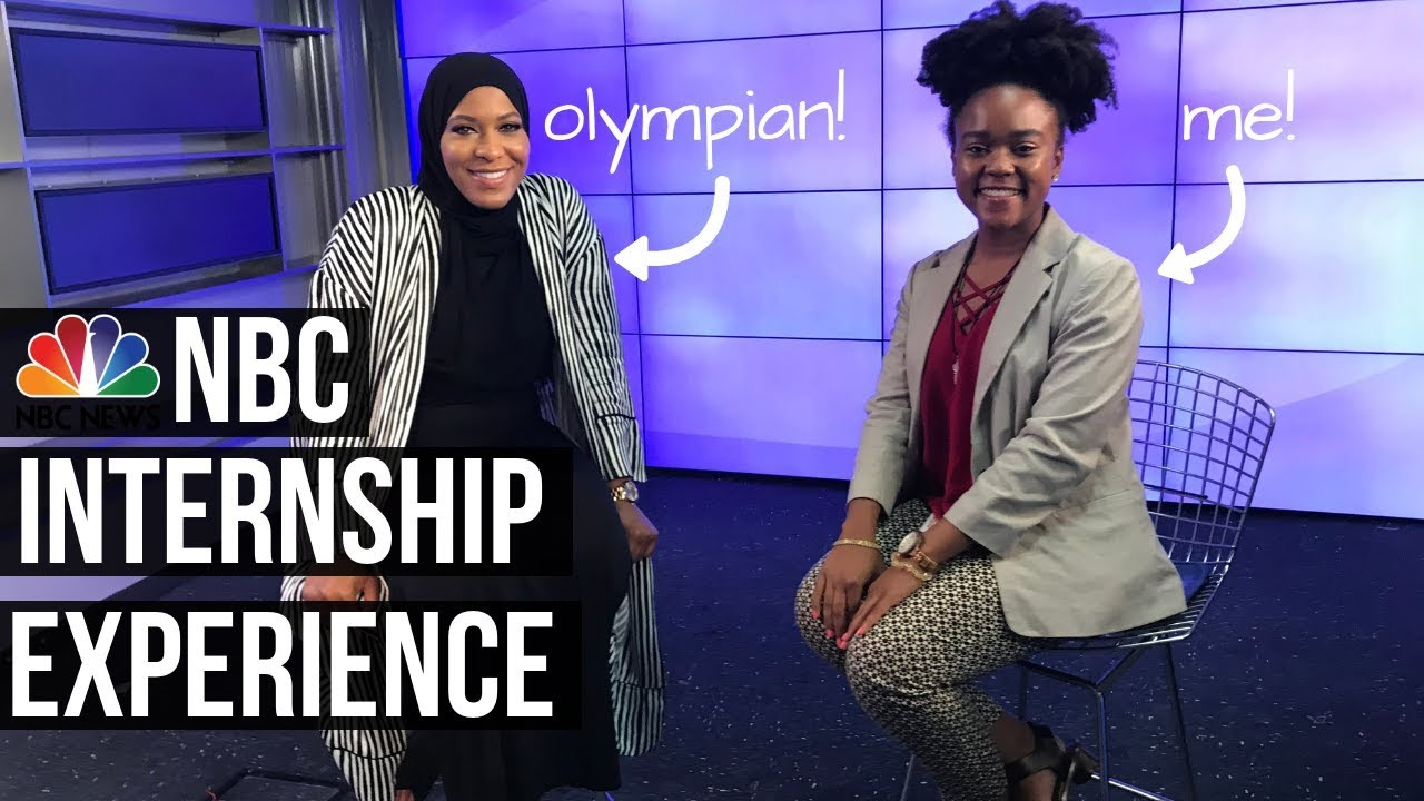 How I Got An Internship at NBC! 🎥 | My NBC News Experience