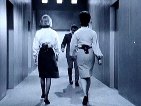 """Nice Walkng """" Secretaries """" 2 / 4 : Slow Motion - Forward"""