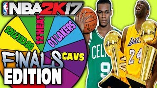 FINALS SPIN THE WHEEL! NBA 2K17 SQUAD BUILDER