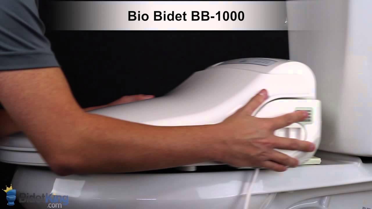 How To Drain A Bidet Seat Tutorial Bidetking Com Youtube