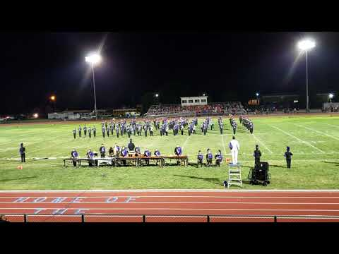 Troy Buchanan High School Marching Band Wright City Competition