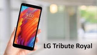 LG Tribute Royal First Look : Boost Mobile Price & Specs