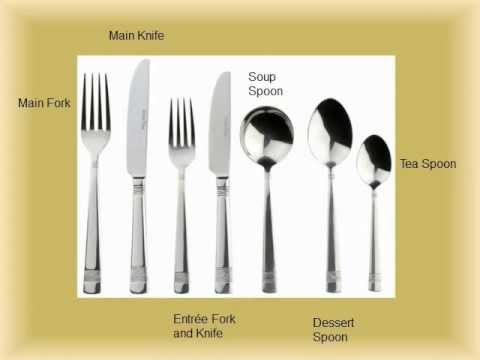Tableware and setting
