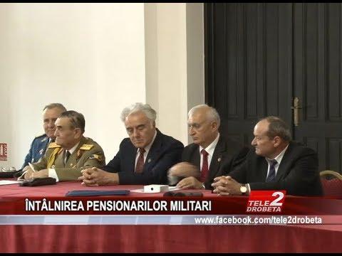 INTALNIREA PENSIONARILOR MILITARI