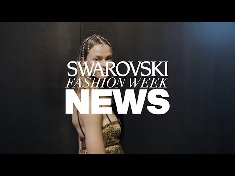 Crystal on the Catwalk: Swarovski Shines At NYFW SS20