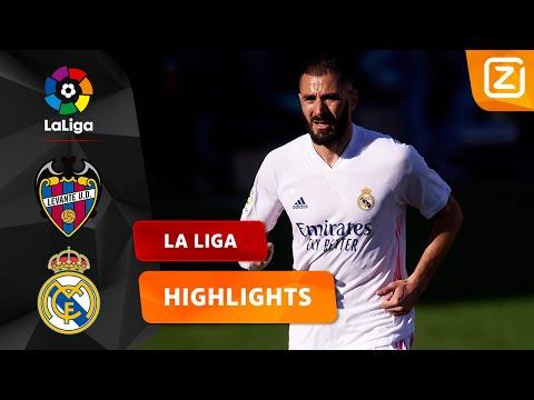 BENZEMA SCOORT Z'N 250e GOAL VOOR REAL! 👏🏼   Levante Vs Real Madrid   La Liga 2020/21   Samenvatting