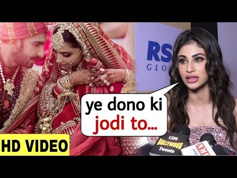 Mouni Roy Reaction on Deepveer Wedding | They are my Favourite Couple