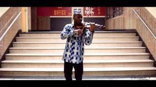 Violinist Covers Aye by Davido - Emmanuel Houndo