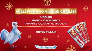 Milli Piyango 31 Aralık 2020 Çekilişi No. 13 - 1. Bölüm