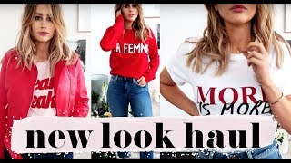 NEW LOOK HAUL & TRY ON // Sophie Milner