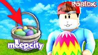 WHERE ARE ALL THE EGGS IN MEEPCITY! 🐰🥚 EASTER 2019 (Roblox)