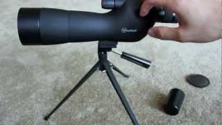 Gomu spotting scope optics zoom monocular waterproof
