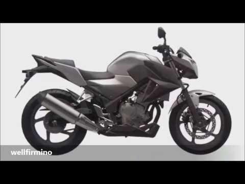 Nova Honda CBR300F Naked 2015 foto patente de design compilação