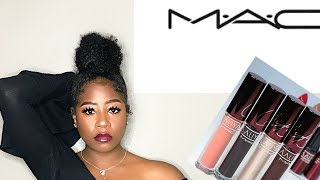MAC X Aaliyah Collection Mini Lip Story Lipstick Swatch | Thebeaumeelle