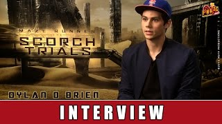 Maze Runner 2 - Interview | Dylan O´Brien | Thomas Brodie-Sangster | Ki Hong Lee