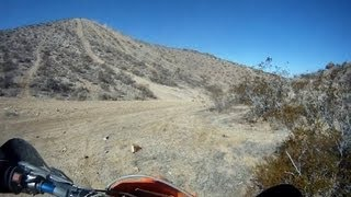 Awesome Hill Climbs on KTM Dirt Bikes - GoPro - California City
