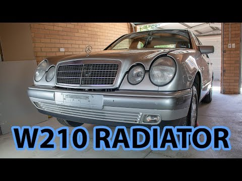 Mercedes-Benz W210 Changing a Radiator