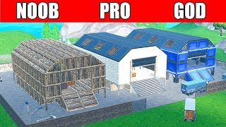 Fortnite NOOB vs PRO vs GOD: NEW DUSTY DEPOT😍 in Fortnite