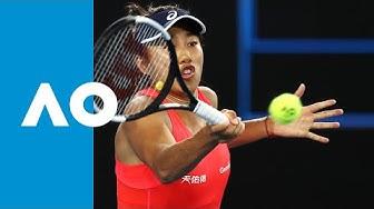 Sloane Stephens vs Shuai Zhang | Australian Open 2020 R1