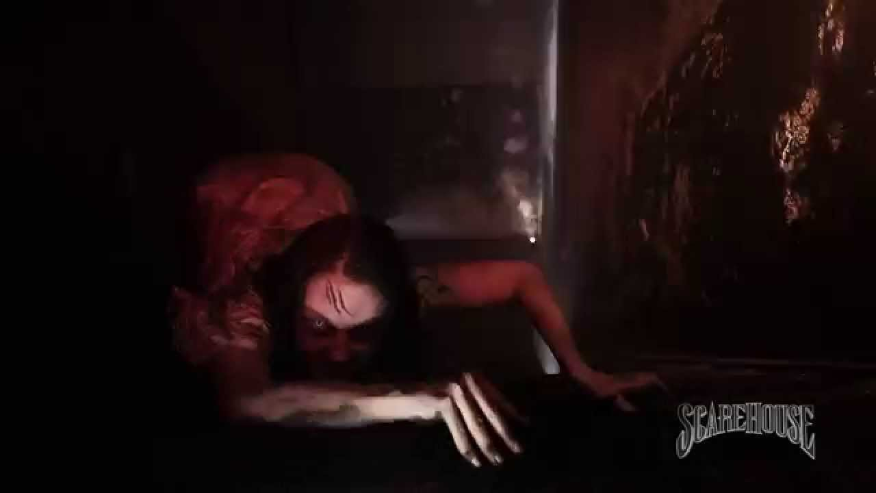 what 39 s inside the scarehouse basement youtube
