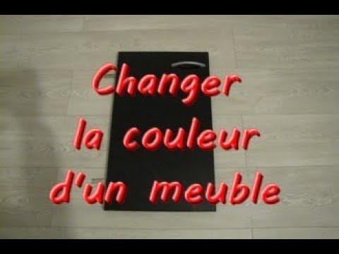 Changer La Couleur DUn Meuble  Youtube