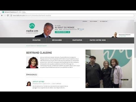 Akim Kermiche invité de Claudine Bertrand à Radio Ville Marie 91.3FM à Montréal