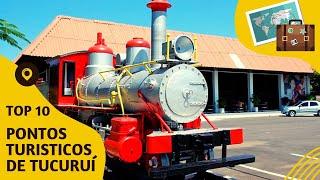 10 pontos turisticos mais visitados de Tucuruí