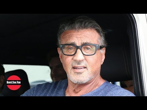 Sylvester Stallone Talks Charlie Sheen