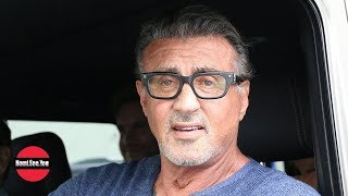 Sylvester Stallone Talks Charlie Sheen
