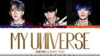Download lagu STRAY KIDS (VOCAL RACHA) - 'MY UNIVERSE' feat CHANGBIN Lyrics [Color Coded_Han_Rom_Eng]