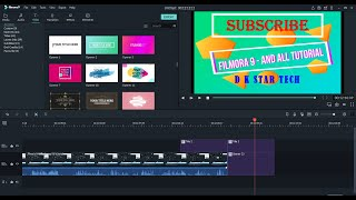 Filmora 9 How to use all the tools in Fillmore 9 Full tutorial in Hindi PART 1