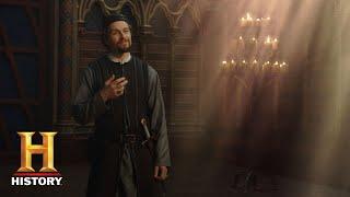 knightfall who is william de nogaret? season 1 history