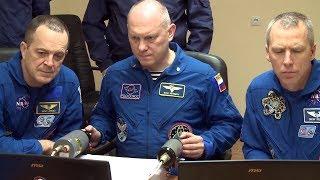 Экипажи ТПК «Союз МС-08» провели открытые тренировки