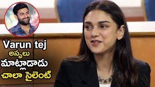 Actress Aditi Rao Speaks About Varun Tej || Antariksham 9000 Kmph || Varun Tej || Life Andhra TV