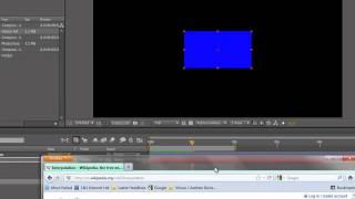 AE-Grundlagen 11: Animation 1 - Keyframes Erstellen