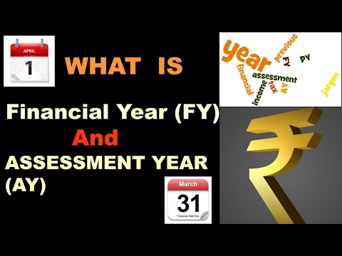What is Financial Year (FY) and Assessment Year (AY)