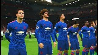 Manchester United vs Ajax PES 2017 Gameplay