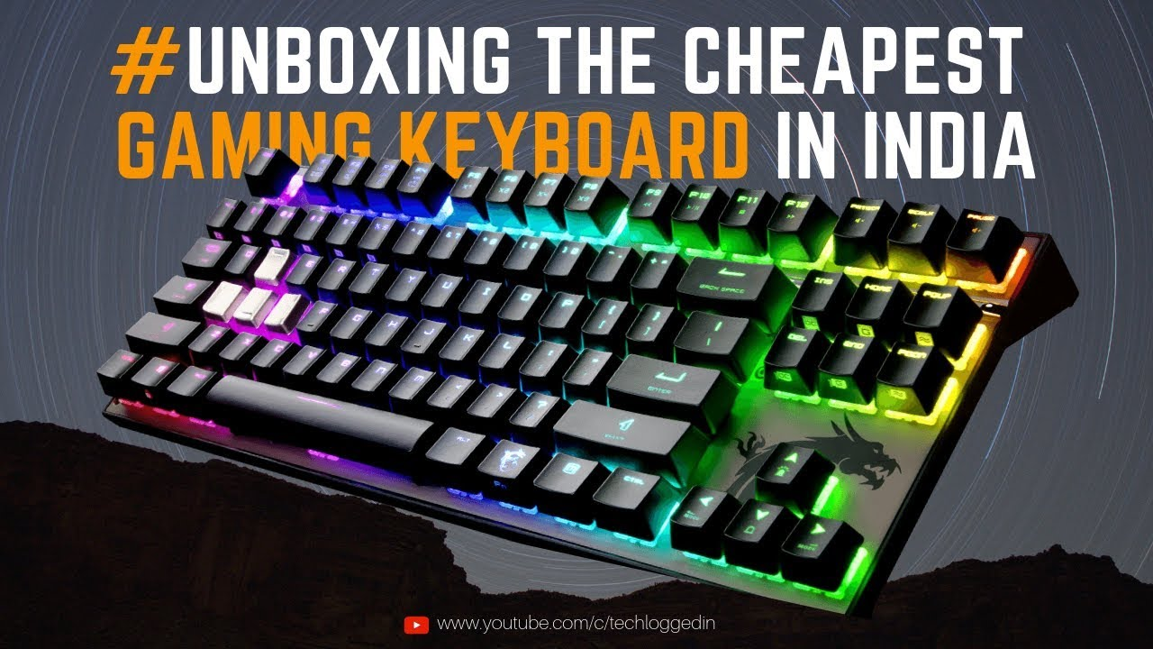 9a4d1b71a8a #UNBOXING THE #CHEAPEST_GAMING KEYBOARD IN INDIA | FRONTECH PRO SERIES GAMING  KEYBOARD JIL1698