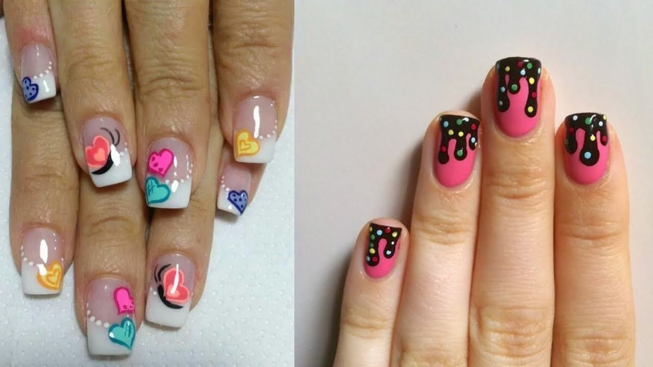 Cute Nail Art Designs For Short Nails Hottest Trends 2018 4