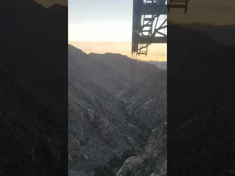 Palm Springs 2 1/2 miles Tram cable ride