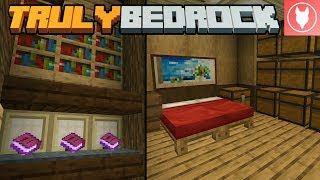 Truly Bedrock SMP: Episode 3 - Library of Comments & Hidden Storage