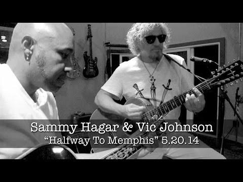 """Halfway To Memphis"" - Sammy Hagar w/ Vic Johnson Acoustic Rehearsal (May 2014)"
