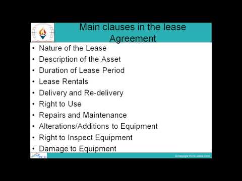 Leasing and Hire Purchase-Session-1(Part 2)