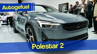 Volvo attacks the Tesla Model 3 with the Polestar 2 - Autogefuel